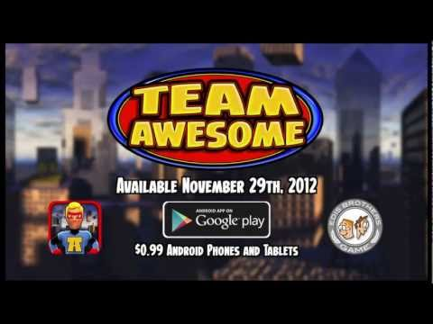 Team Awesome Launch Trailer (Android)