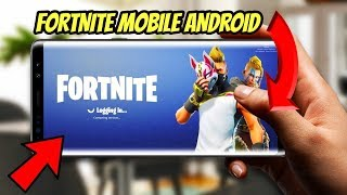 HOW TO INSTALL FORTNITE MOBILE ANDROID!