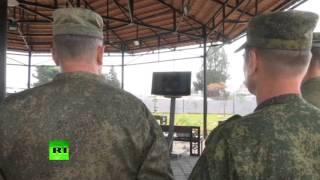Российские военные в Сирии получили поздравление от Сергея Шойгу с Днем защитника Отечества