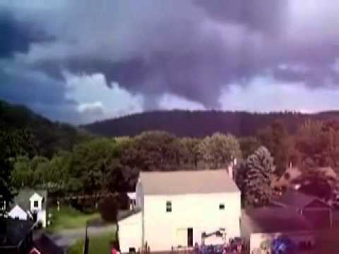 Lancaster County, Pennsylvania Tornado September 27th 2010