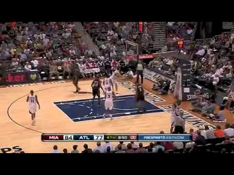 NBA - Miami Heat vs Atlanta Hawks (98-90) - April 11th, 2011