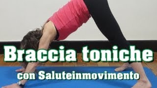 Braccia SuperToniche - Esercizi per la definizione muscolare(Vuoi dimagrire, tonificare i muscoli, allenarti ovunque? Ecco il canale che fa per te! Iscriviti ..., 2013-05-16T16:48:40.000Z)