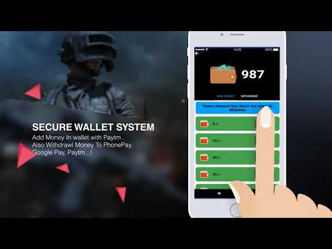 FreeFire PUBG Tournament App With Admin Panel || Fast Payment System || Free Diamond Uc