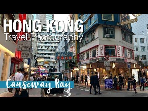 Hong Kong Travel Photography: Causeway Bay
