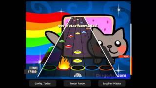 Nyan Nyan Cat 100% FC Expert Guitar Flash Custom