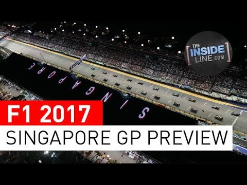 F1 2017 NEWS - SINGAPORE GRAND PRIX: RACE PREVIEW [THE INSIDE LINE TV SHOW]