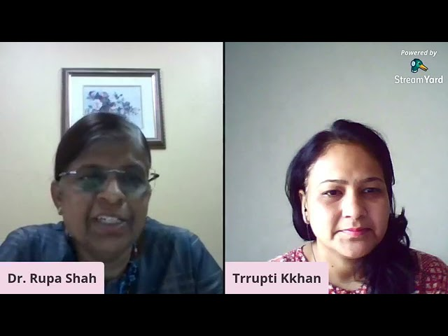 Ask Dr. Rupa Shah - Case 1, Part 1-Healing through  Indian flower remedies & bio energy remedies