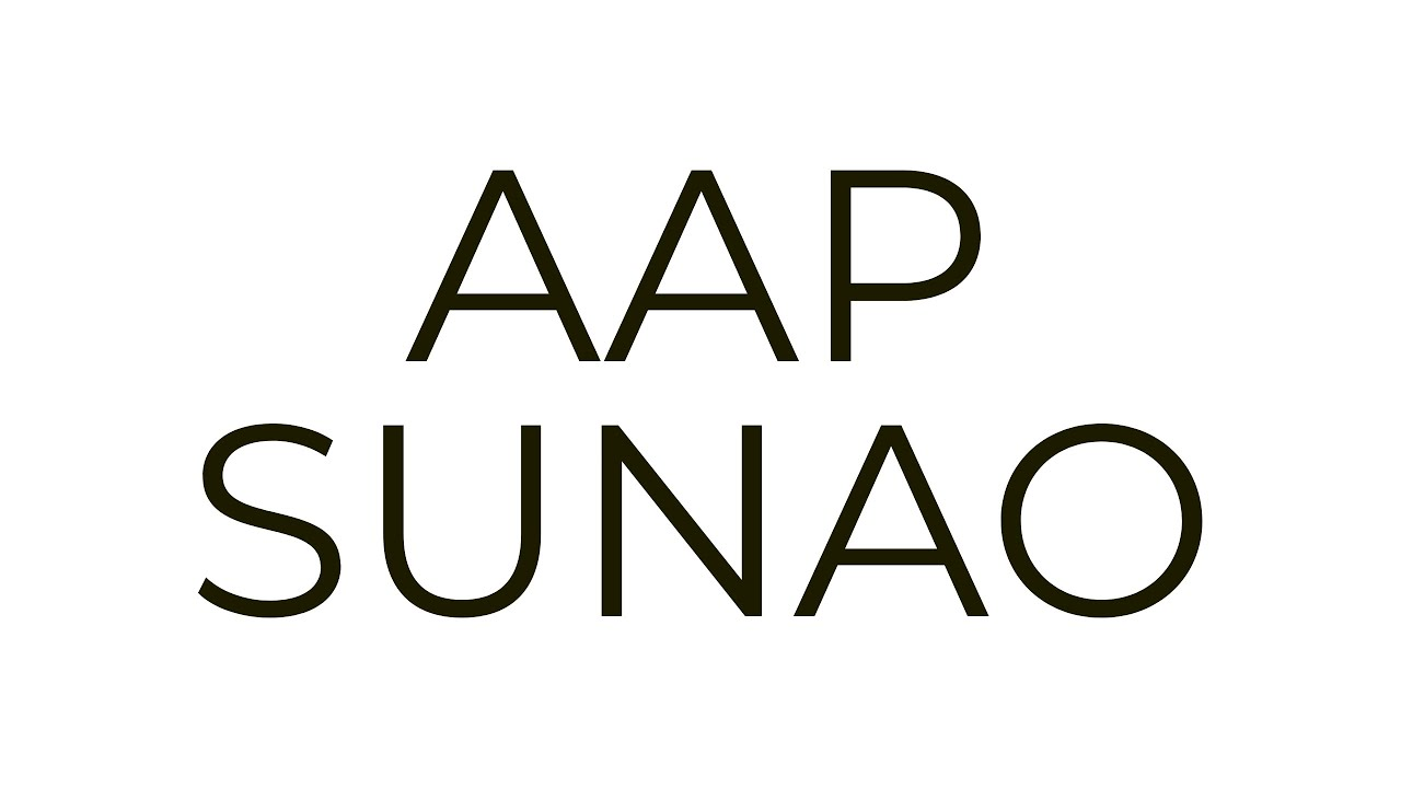 AAP SUNAO: OFFICIAL LAUNCH