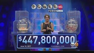 1 Winning Powerball Ticket Sold In California Worth $447M
