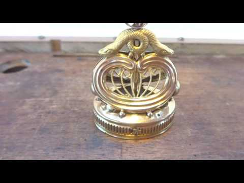 Antique early 1800s petit barillet music box wwwsingingbirdboxcom