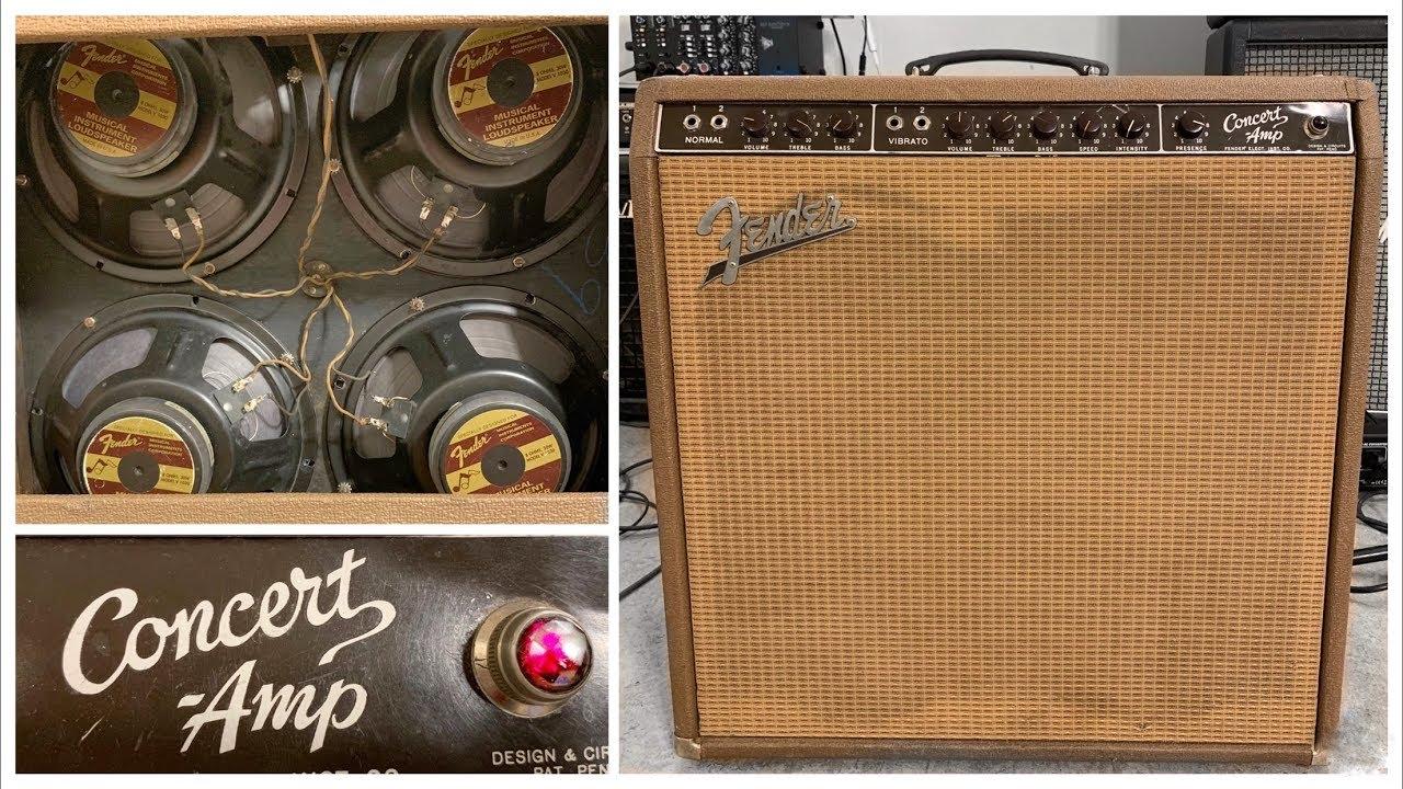 Brownface Fender Concert Amp