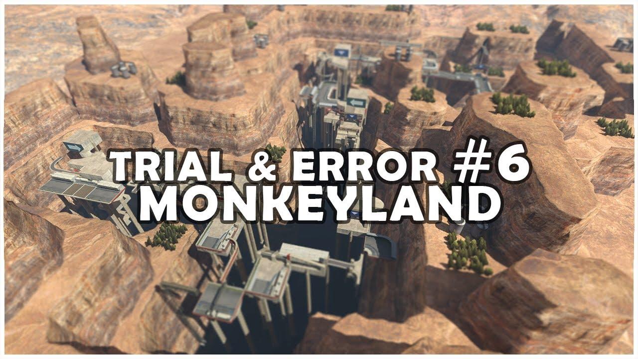 Download Trial & Error #6 - Monkeyland w/ riolu!