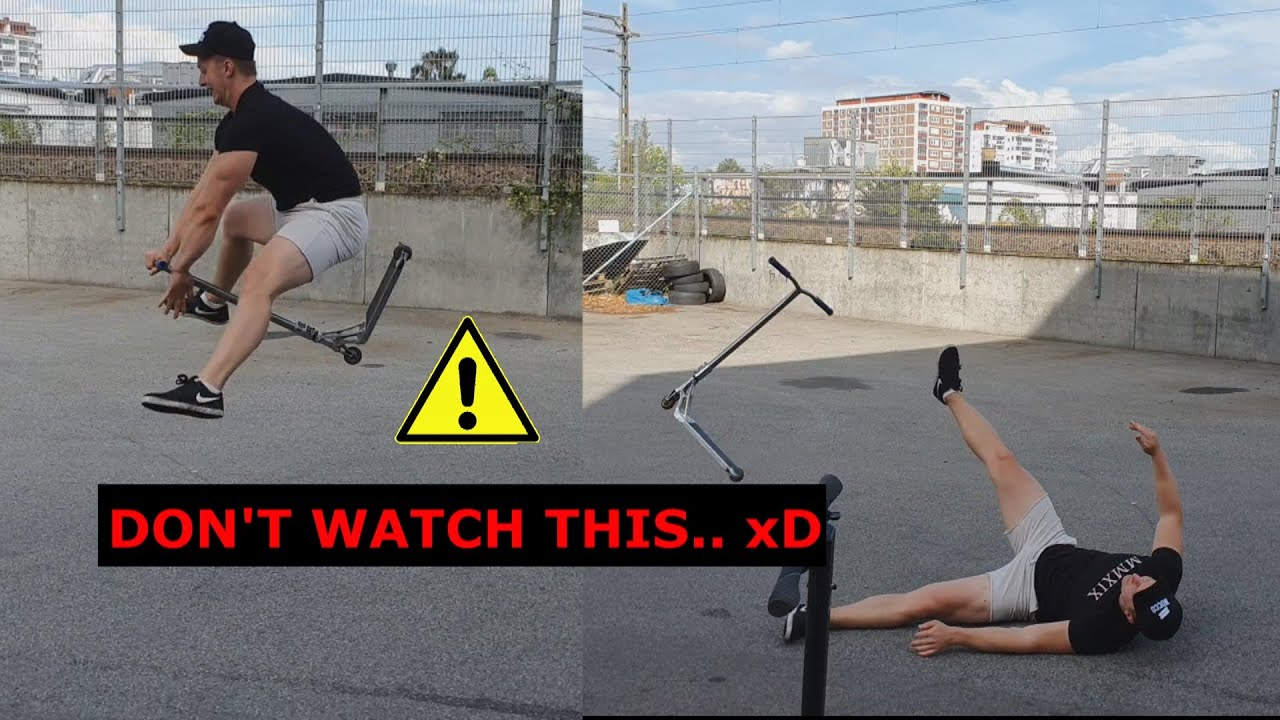 WORST SCOOTERING FREAKOUT EVER!!!!?