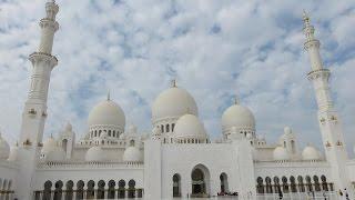 Inside Sheikh Zayed Grand Mosque,  Abu Dhab, The UAE