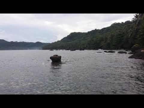 São Tomé -  caminho do ilheu das rolas