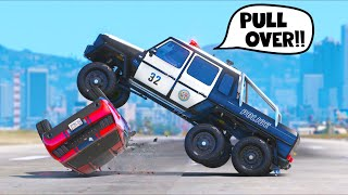 YOU BREAK THE LAW = YOU'RE DONE!! (GTA 5 Mods)