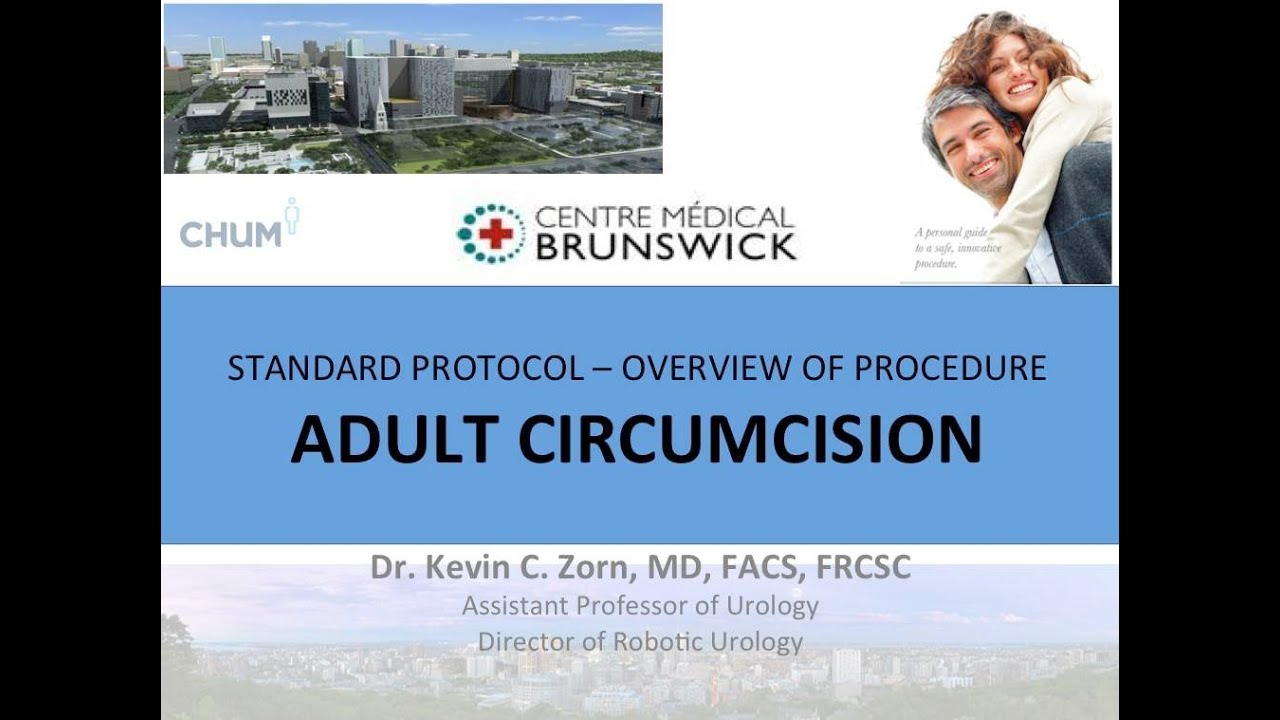Circumcision - Adult Male Educational Video - English 2013
