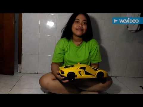 Rc lamborgini (Review) SKALA 1:12 produk demak indonesia