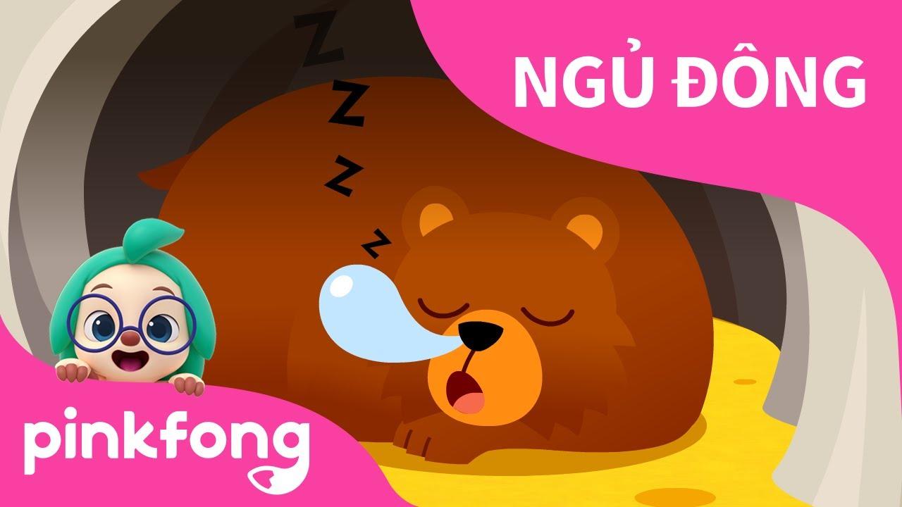 Ngủ Đông | Bài hát về Động Vật | Pinkfong! Những bài hát cho trẻ em