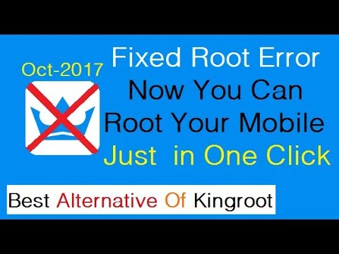 How to Root Any Android Device | without Computer | Best Alternative of Kingroot | One Click (2017)