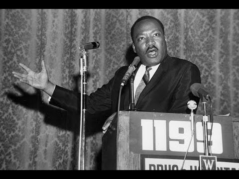 Dr. Martin Luther King, Jr. Addresses 1199 Healthcare Workers in 1968