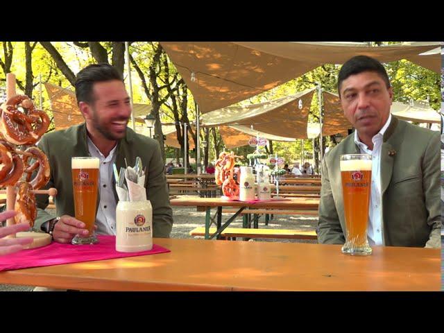 Legenden des FC Bayern München - früher auf der Wiesn jetzt im Nockherberg Biergarten