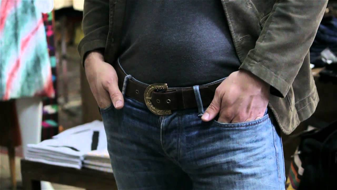 What Kind Of Belt To Wear With Jeans For Men Jeans Belts