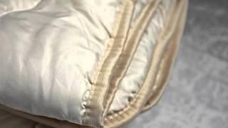 Стеганое шерстяное одеяло облегченное(Отличное одеяло на все сезоны! Чехол: бязь Плотность:500 г/м.кв Наполнитель: 100% шерсть Упаковка: сумка на..., 2016-01-21T13:24:36.000Z)