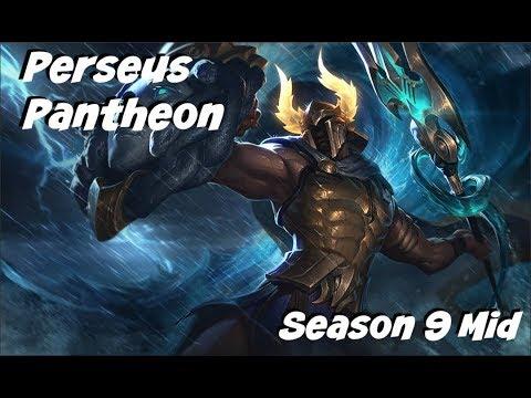 League of Legends: Perseus Pantheon Mid Gameplay