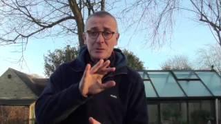 James Alexander-Sinclair talking Garden Design at Otter Farm