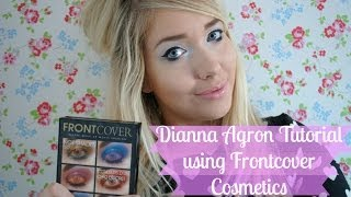 Dianna Agron Tutorial with Frontcover Cosmetics | Away with the Fairies Thumbnail