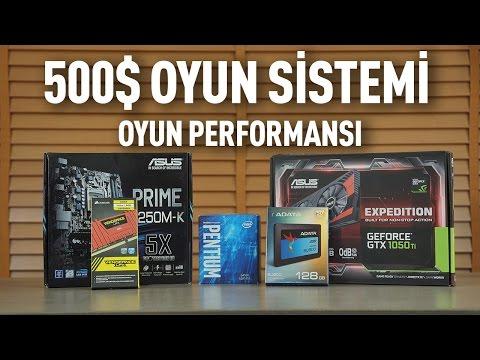 500 dolar oyun sistemi oyun performansı