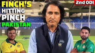 vuclip Finch's Hitting Pinch Pakistan | 2nd ODI | Pak Vs Aus | Ramiz Speaks