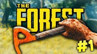 THE BEGINNING! - The Forest SOLO Gameplay #1
