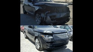 GOT SCAMMED ON COPART AUCTION BUYING 2016 RANGE ROVER