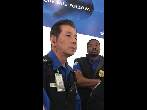 Oakland Airport TSA Abusive behavior