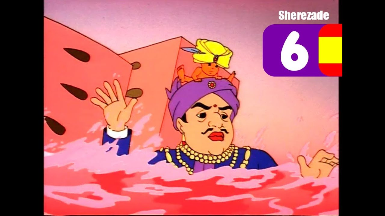 Serie Animada Princesa Sherezade 06- DENTRO DE UNA SANDIA