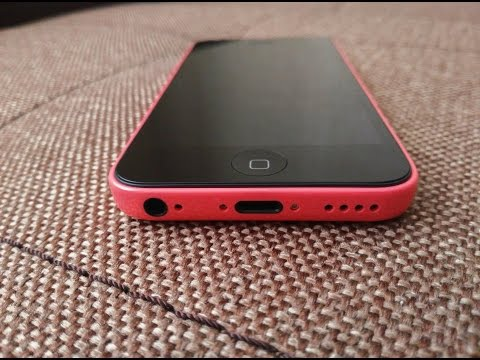 Iphone 5c | 16 gb | Pink | Refurbished - Unboxing (Ebay) 4k