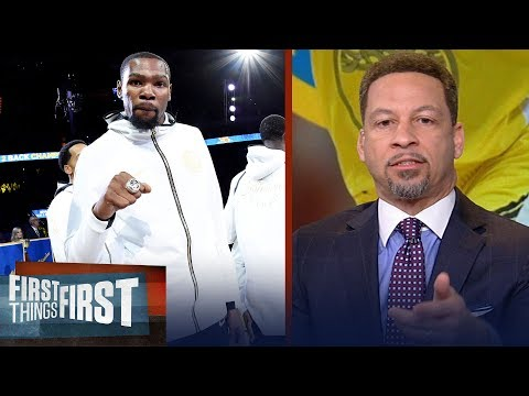 Chris Broussard offers some advice to Kevin Durant ahead of free agency | NBA | FIRST THINGS FIRST