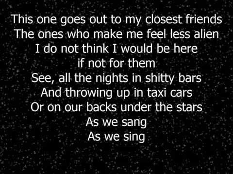 The Maine - Another Night On Mars Lyrics