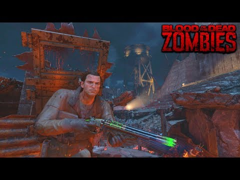 BLOOD OF THE DEAD BUSCANDO EL EASTER EGG #6 | BLACK OPS 4 ZOMBIES GAMEPLAY
