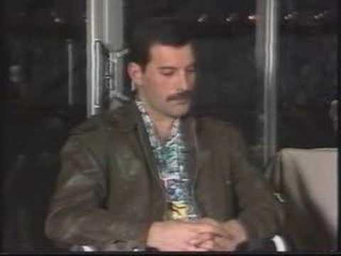Interview with Freddie Mercury (April 1985, Australia ...
