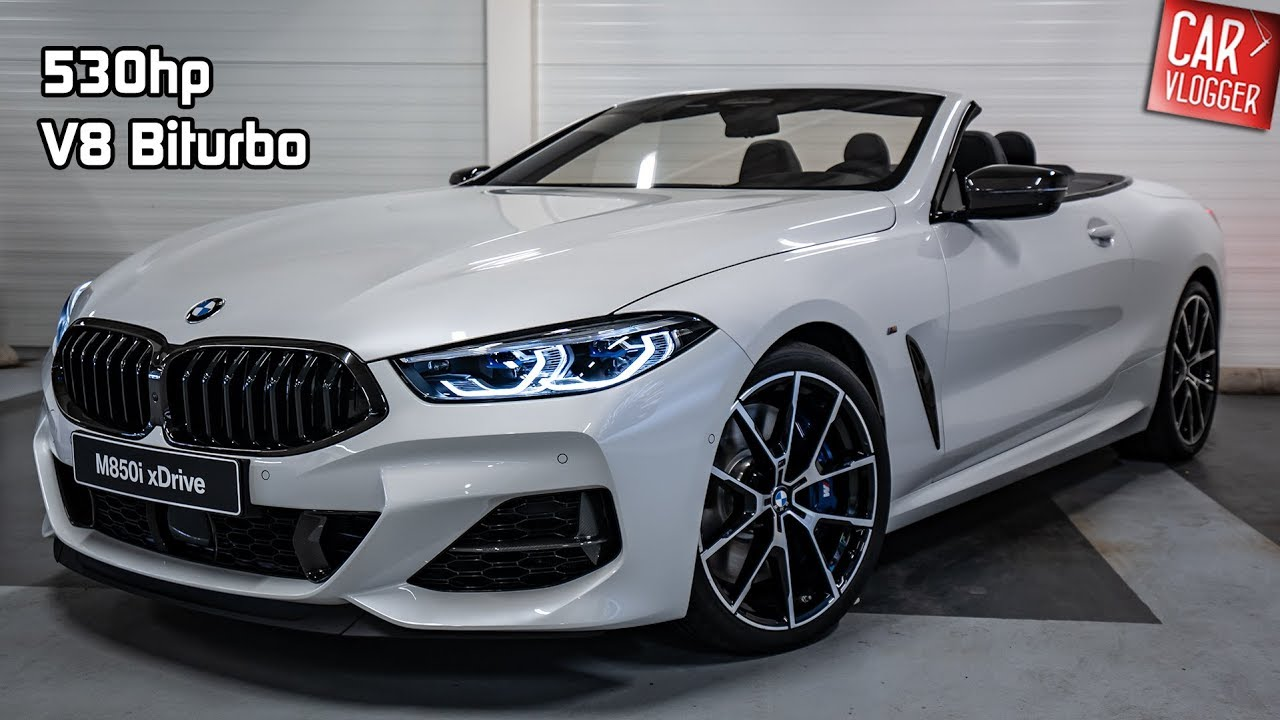Inside The New Bmw M850i Xdrive Convertible 2019