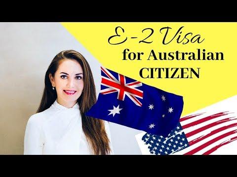 E2 Investor Visa For Australian Citizens🇺🇸✔️🎯