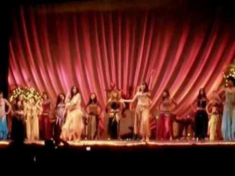 Baile de percusión - Grupo Isis Valdivia [HQ]