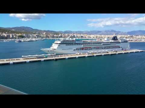 Palma harbour msc cruise ship20160919 160424