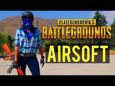 Airsoft Player Unknown's Battlegrounds   Player Unknown's Battlegrounds in Real Life with Airsoft