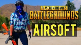 Airsoft Player Unknown's Battlegrounds | Player Unknown's Battlegrounds in Real Life with Airsoft