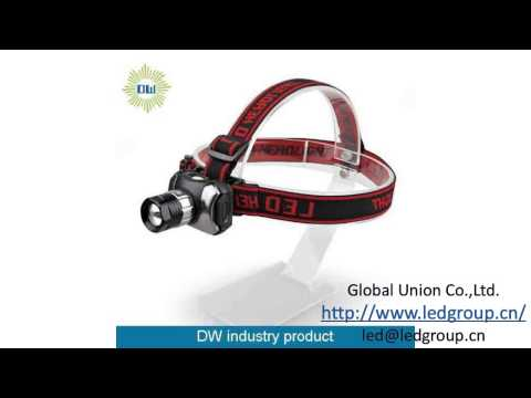 LED Head Lamp, LED Head Flashlight, Rechargeable Head Torch Wholesale