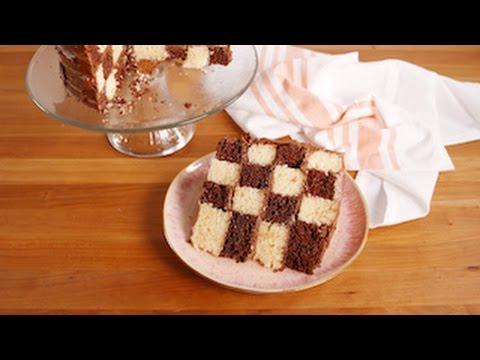 Checkerboard Cake  Delish